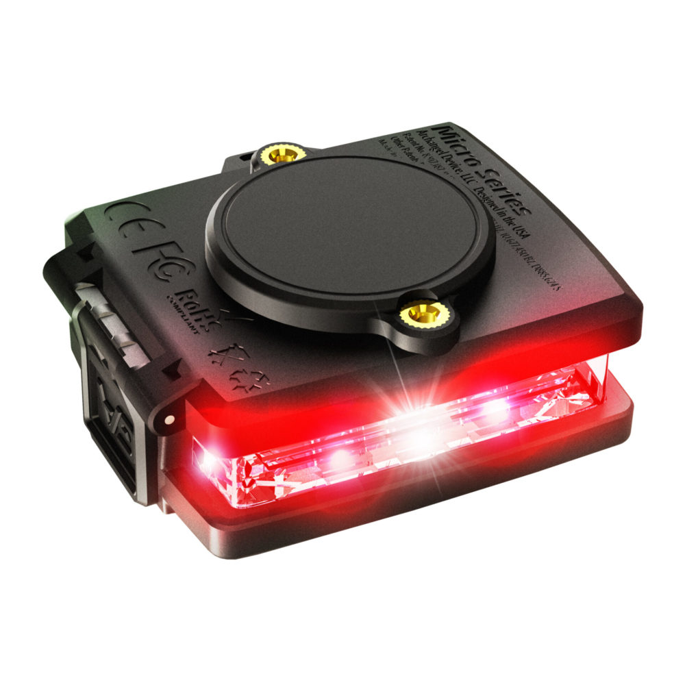 Red/Green Wearable Safety Light