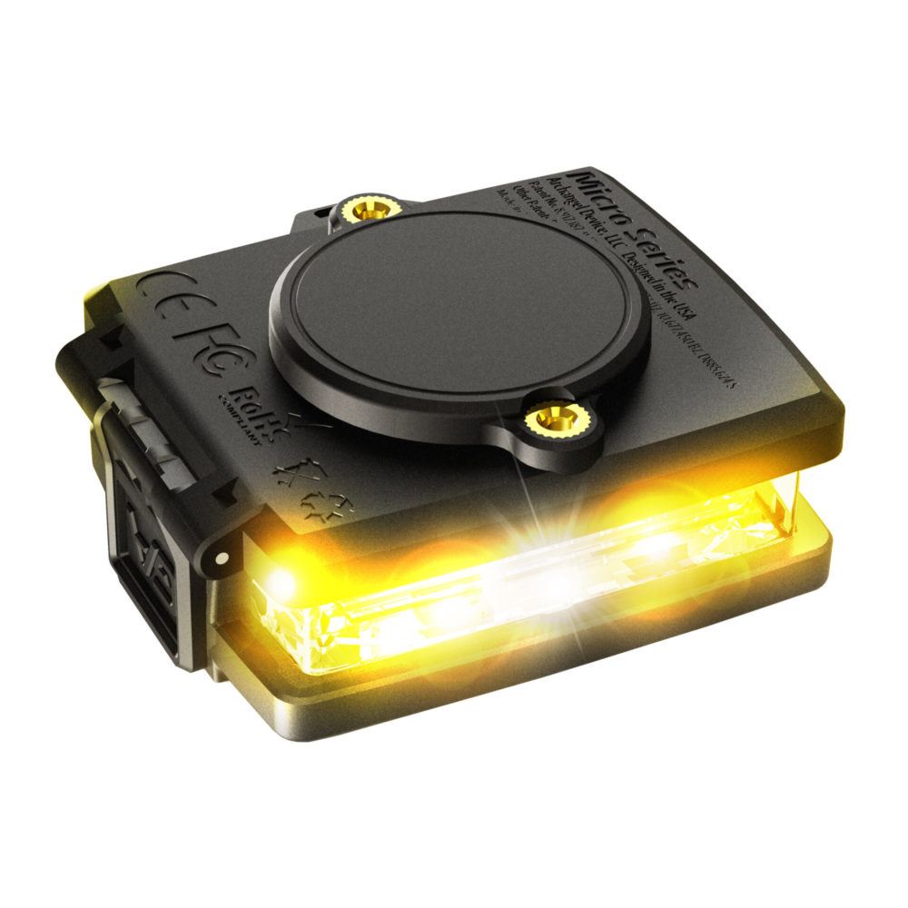 Yellow/Yellow Wearable Safety Light